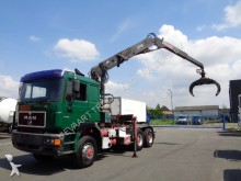MAN 27.463 6x6 / Full Steel / Big Axle / 21MT Crane tractor unit