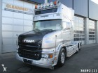 Scania T 164.480 V8 Rearder Kiphydraulic King of he R tractor unit