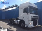 tracteur DAF XF 105 460 6x2, EURO 5, Manual, airco, Adjustabl