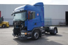 trattore Scania incidentato