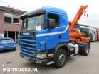 cap tractor Scania R 114 380 manual full steel susp