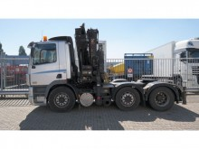 cabeza tractora DAF CF 85.430 6X2 MANUAL GEARBOX WITH HIAB 288 EP-5