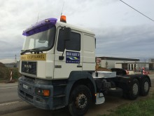 used MAN exceptional transport tractor unit