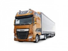 new DAF tractor unit