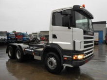 tracteur Scania R 124 CA HZ 470 Heavy Duty