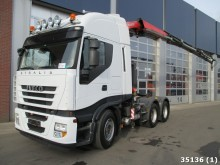 tracteur Iveco Stralis AS44S50 6x4 Euro 5 Fassi 26 ton/meter Kr
