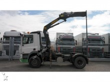 DAF CF 85.380 WITH EFFER 150/33 CRANE tractor unit
