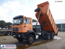 MAN 33.364 6x6 Meiller tipper 14 m3 tractor unit
