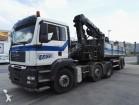 tracteur MAN TGA / Oplegger / HIAB Kraan / Leasing