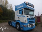 Scania R500 manual retarder PTO kipper hydrauliek tractor unit