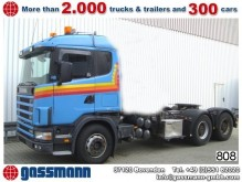 Scania 144G 530 6x4 V8 Standheizung/Klima/NSW/Tempoma tractor unit