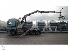 cabeza tractora Mercedes Actros 3351 V8 6X4 WITH HIAB JONSERED 2640 Z LOG