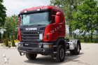 cabeza tractora Scania G440 4x4 SZM Euro5 mit Kipphyd. Blatt - Luft