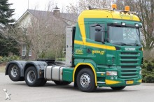used Scania low bed tractor unit