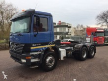 cabeza tractora Mercedes Actros 3348 6x4 FULL STEEL manual hydraulic