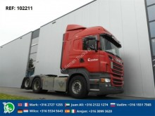 Scania R560 DOUBLE BOOGIE tractor unit