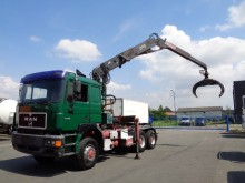 tracteur MAN 27.463 6x6 / Full Steel / Big Axle / 21MT Crane