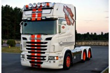 Scania R620 / Topline / Manueel / Leasing tractor unit