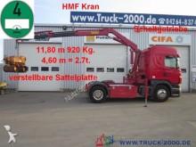 Scania R 420 HMF Kran 11,8m - 920kg + Funk-FB Klima tractor unit