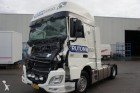 damaged DAF tractor unit