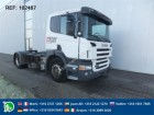 Scania P340 with Lohr system tractor unit