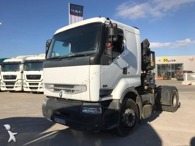 Tracteur renault standard premium 370 dci 4x2 euro 3 grue occasion n 1843717 - Garage renault cavaillon ...