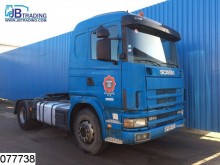 Scania 124 420 Steel suspension, Manual, Hydraulic tractor unit