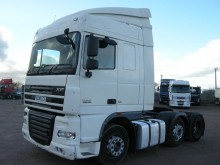 tracteur DAF XF105 410 SPACE CAB TRACTOR UNIT 2008 SC08 LCX