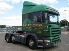trattore Scania R420 HIGHLINE TRACTOR UNIT 2004 FJ54 AEF