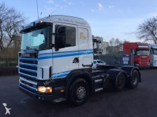 trattore Scania R 124 360 6x2 hydaulic manual