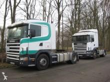 tracteur Scania 124 420 SZM aus FRANKREICK