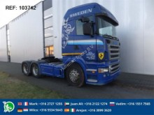 Scania R420 HIGHLINE RETARDER EURO 3 tractor unit