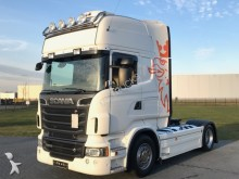 Scania R520 V8 / Topline / 2 Tanks / Leasing tractor unit