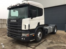 Scania 124L 360 Manual - Airco - Steel / Air - 360 tractor unit