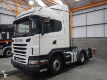 tracteur Scania G440 EURO 5 HIGHLINE 6 X 2 TAG AXLE TRACTOR UNIT - 2011 - FG61 S