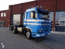 Scania R143 450 top/streamline bladvering tractor unit