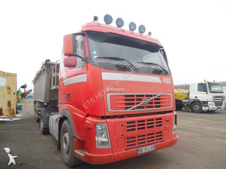 tracteur volvo standard fh 480 4x2 euro 4 syst me hydraulique occasion n 1898358. Black Bedroom Furniture Sets. Home Design Ideas