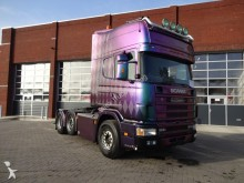 cabeza tractora Scania 164-580 full air automatic retarder special dani
