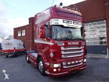 Scania R580 TOPLINE OLD TACHO Manuel-Reterder tractor unit