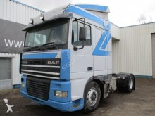 DAF XF 95 380 spacecab , Euro 2 , ZF Manual Gearbox tractor unit