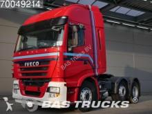 damaged Iveco tractor unit