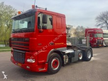 DAF XF 95 380 6x2 Holland truck tipper hydraulic tractor unit
