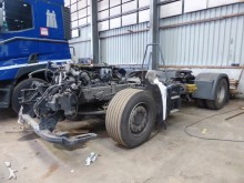 damaged MAN tractor unit
