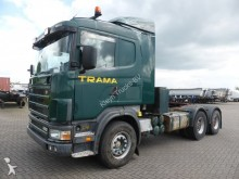 Scania R144.460 MANUAL, FULL STEEL tractor unit