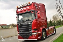 Scania R730 Streamline Automaat E6 / Leasing tractor unit