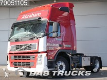 damaged Volvo tractor unit
