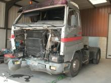 damaged Scania tractor unit