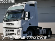 damaged Volvo exceptional transport tractor unit