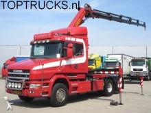 Scania Torpedo T124 420 6X2 PALFINGER PK35000D/ 489 DKM tractor unit