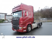 used Scania exceptional transport tractor unit